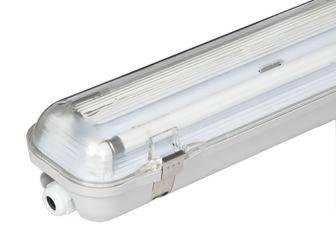 רק החוצה גוף תאורה 2X54W T-8 מוגן מים ואבק | גוף תאורה מוגן מים IN-19